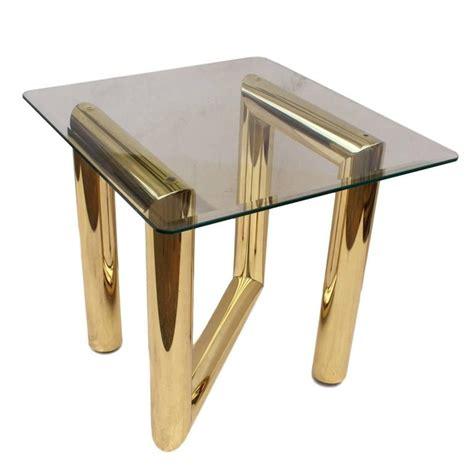 Zig Zag Table L Vintage 1970s Brass Tubular Zig Zag Z End Table By Karl Springer For Sale At 1stdibs