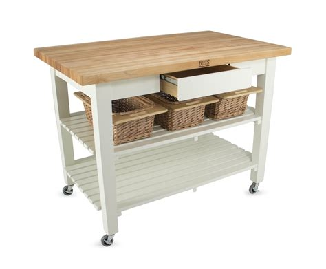 john boos classic country work table kitchen island 48 quot x john boos classic country work table kitchen island