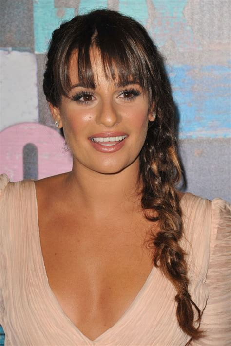 which hair colour does lea michele wear for loreal lea michele s hairstyles hair colors steal her style