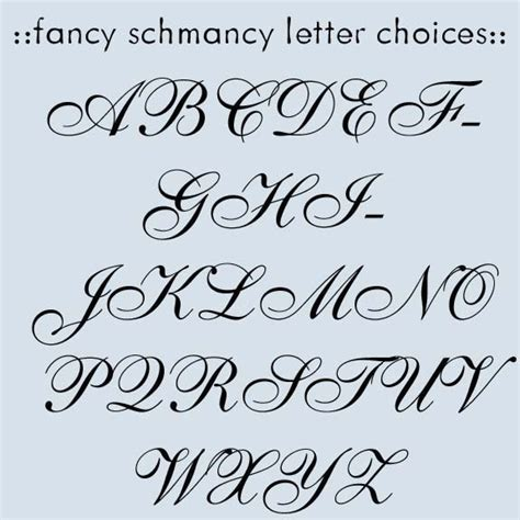 fancy letters new calendar template site
