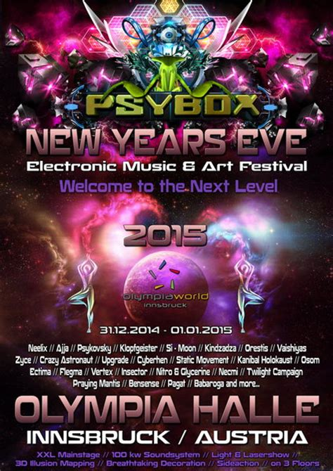 new year parade song flyer 183 psybox quot new years quot electronic