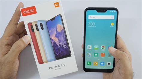 xiaomi redmi 6 pro smartphone unboxing overview
