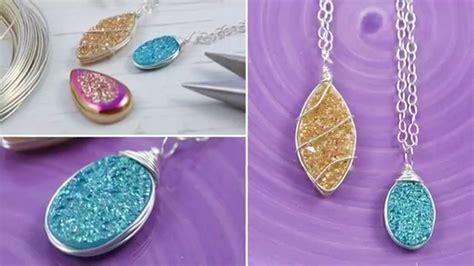 how to make druzy jewelry druzy jewelry how to make thin