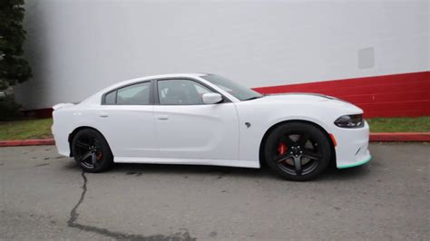 hellcat jeep white 2017 dodge charger srt hellcat white knuckle clear coat
