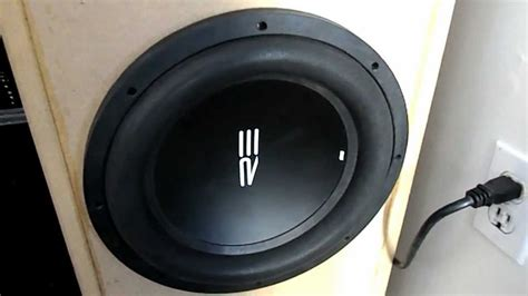 re audio ht subwoofer demo car sub in home theater