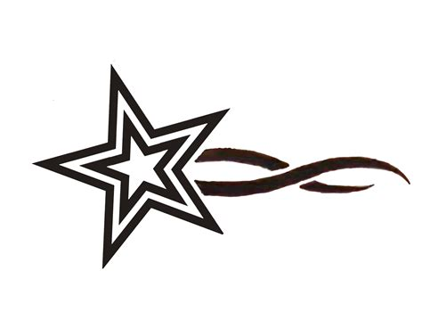 star tattoos drawings clipart best