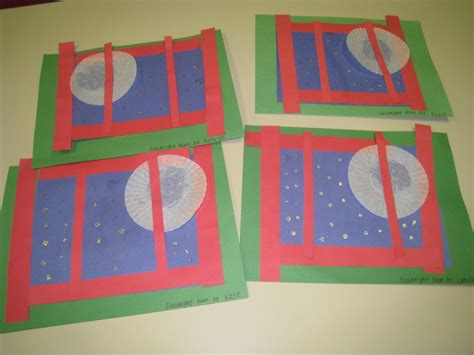 pattern preschool books goodnight moon story craft we also cut out magazine