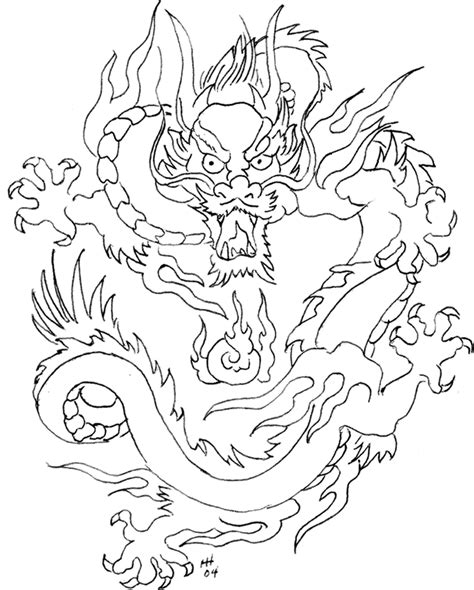 chinese new year dragon coloring page coloring home