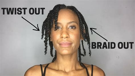 difference between lock twist and dreads the difference between a twist out and a braid out youtube