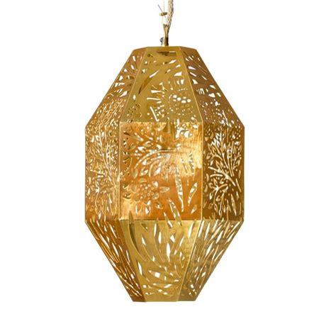 buy luxury marigold long pendant  brass  australia