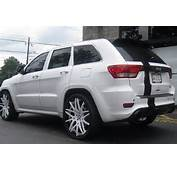 Jeep Grand Cherokee On 24s  Cars Pinterest