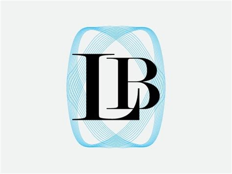 Lb Monogram pin by alan bennington boxed brands on monogram