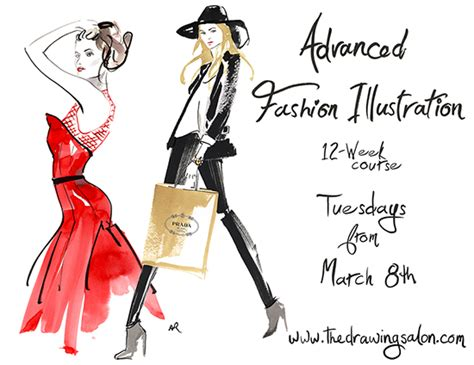 fashion illustration classes come draw with us at the salon