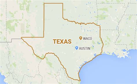 waco texas on a map 9 bikers are killed in shootout in waco