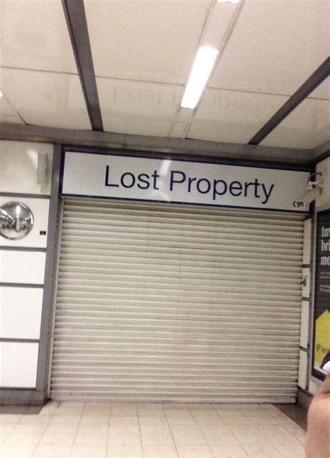 Thameslink Lost Property | fleet line concourse at city thameslink railuk forums