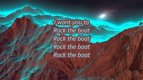 lyrics to aaliyah rock the boat aaliyah rock the boat lyrics youtube