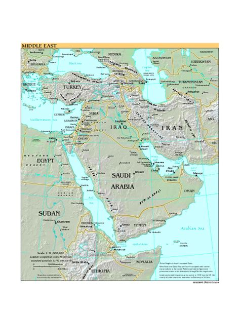 middle east map including dubai middle east map dubai mappery
