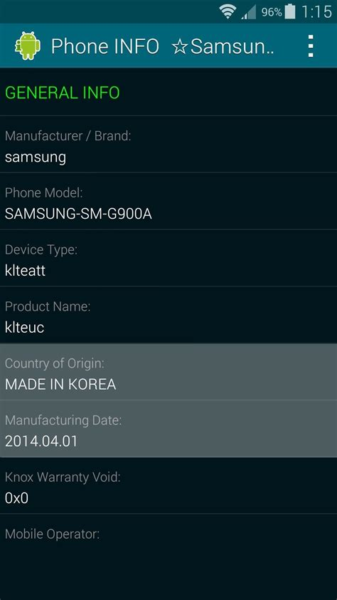 Samsung Phone Serial Number Lookup Find Out When Where Your Samsung Galaxy Device Was Manufactured 171 Samsung Galaxy S5