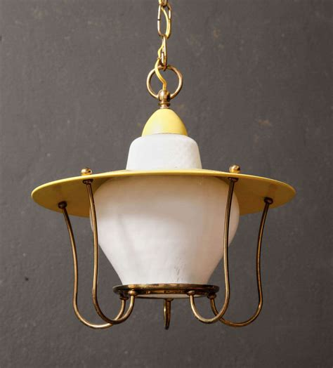 Whimsical Pendant Lights Whimsical 1950s Brass Pendant Light At 1stdibs