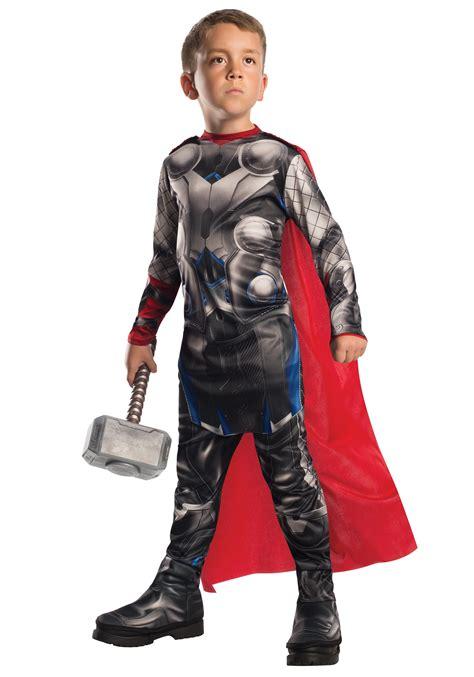 Boy And Fashion Avenger 1 child thor 2 costume