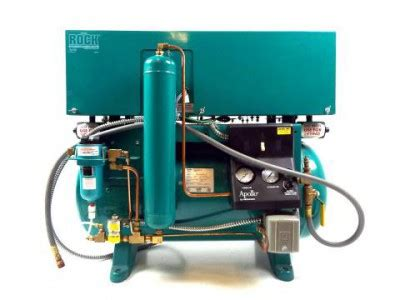 midmark rock apollo oilless air compressor with cover rental