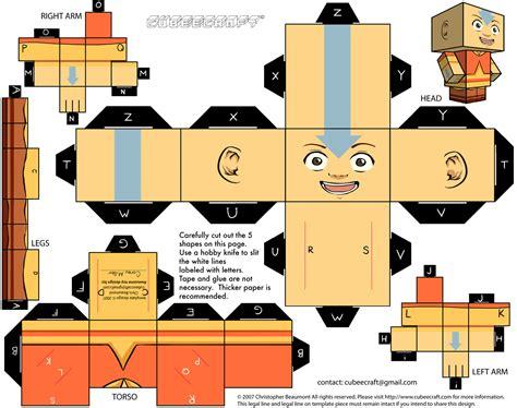 Avatar Papercraft - papercraft