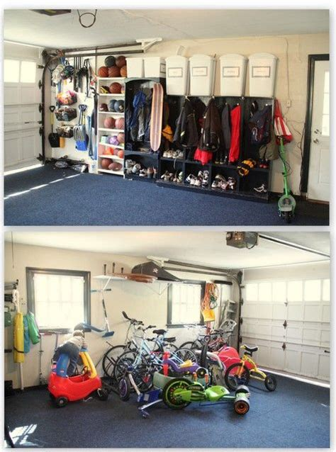 Garage Cubbies by 1000 Images About Garage On Coats Shelves