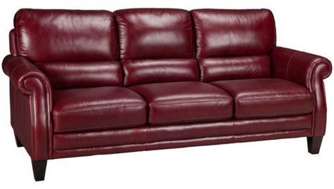burgundy leather sleeper sofa futura burgundy leather sofa s furniture