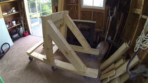 how to build a boat stand how to build an outboard motor stand 375lbs rated youtube