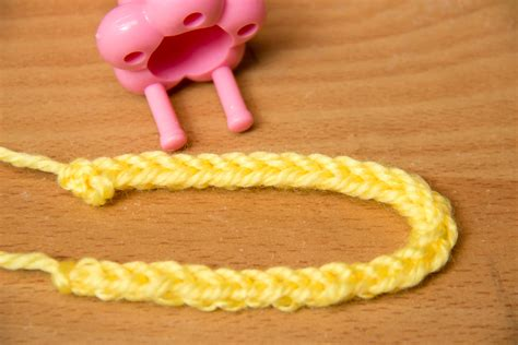 spool knitting how to how to spool knit web 5 steps with pictures wikihow