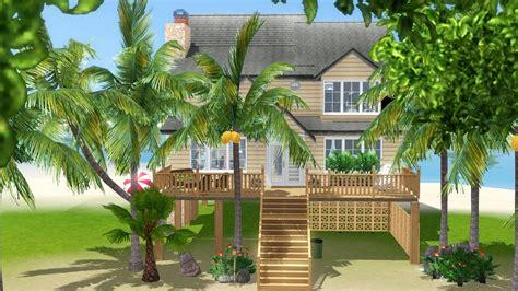 Bath Tub And Shower sea breeze beach house tiki s sims 3 corner