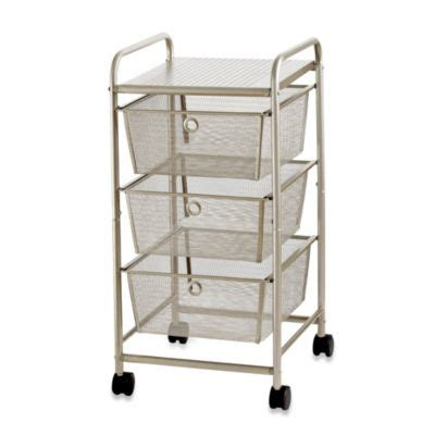 Bathroom Rolling Cart With Drawers Moved