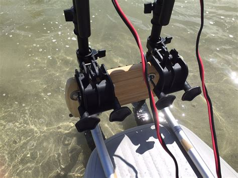 pedal boat motor kit motor mount kit for sup paddle board easy install electric