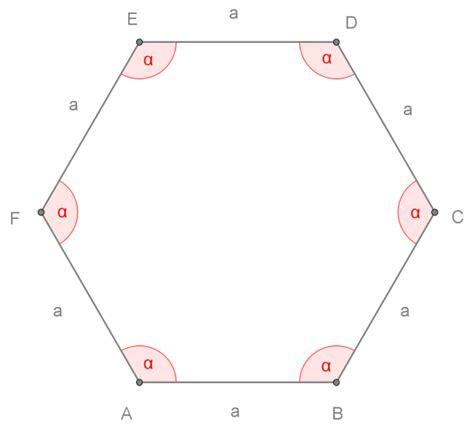 somma degli angoli interni di un parallelogramma esagono regolare openprof