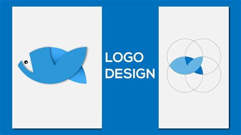 fish logo design tutorial in adobe illustrator youtube