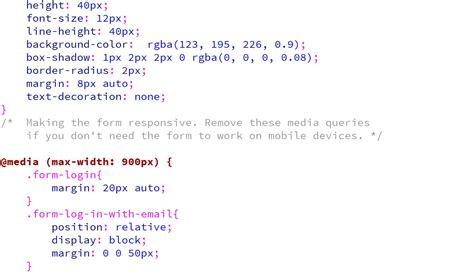 membuat form login menggunakan css membuat form login responsive menggunakan css kursus web
