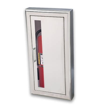 semi recessed fire extinguisher cabinet stainless steel jl cosmopolitan stainless steel 1037v10 semi recessed 10