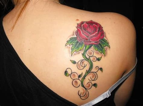 red rose tattoo on shoulder 65 trendy roses shoulder tattoos