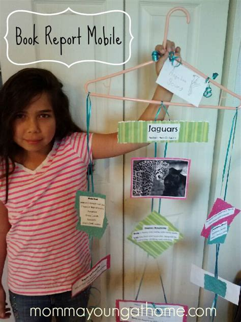 mobile book report project hanger mobile for book report texts book reports and