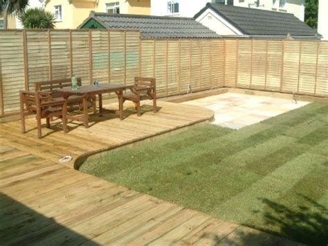 decking ideas for small gardens decking designs for small gardens audidatlevante