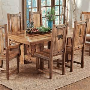 Black Dining Table Decor Reclaimed Wood Trestle Dining Table