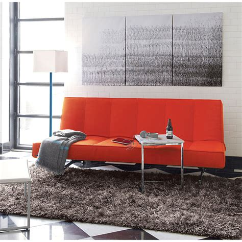 Orange Sofa Interior Design by Bright Orange Furniture Finds For A Vibrant Interior