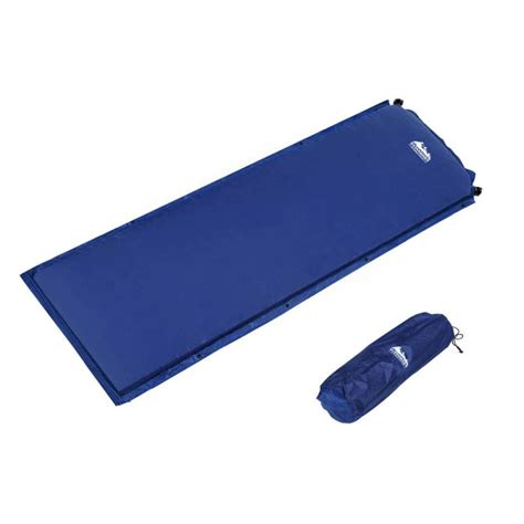 Self Inflating Single Mattress by Self Inflating Single Air Mattress Blue 6cm Thick Buy