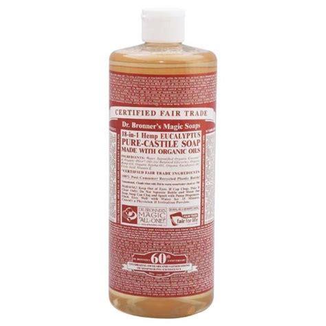 Murah Dr Bronner S Castile Liquid Soap Eucalyptus 473 Ml dr bronner s castile liquid soaps castile soap 18 in 1 hemp eucalyptus 32 ounce all