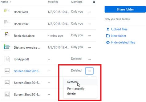 dropbox deleted files lost files but no backup here s how to recover them