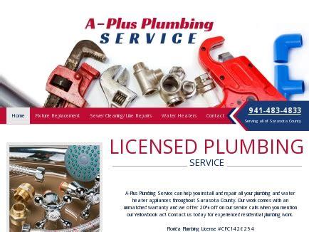 A Plus Plumbing by A Plus Plumbing Service Plumbers Sarasota Fl