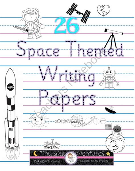 space themed writing paper space writing papers enter for your chance to win 1 of