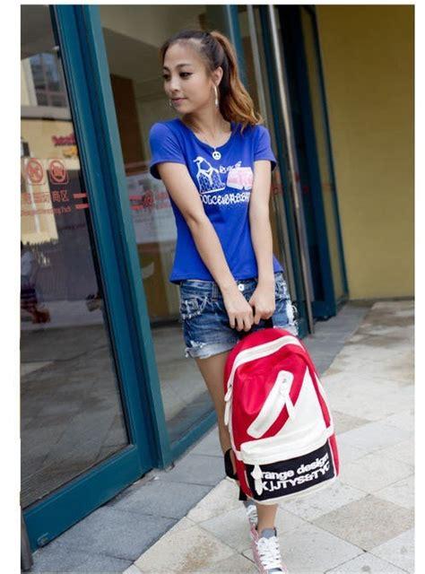 Tas Import Fashion Wanita 2463 Keren Murah Bagus Baru Hitam Dan Merah tas ransel import merah terbaru 2013 model terbaru