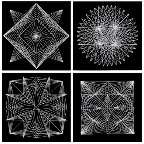 String Geometry Project - this project shows you how to make intricate geometric