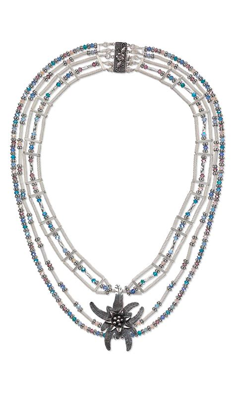 focal for jewelry jewelry design multi strand necklace with antiqued hill